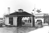 Old Photo of St. Clair Shores Gas Station